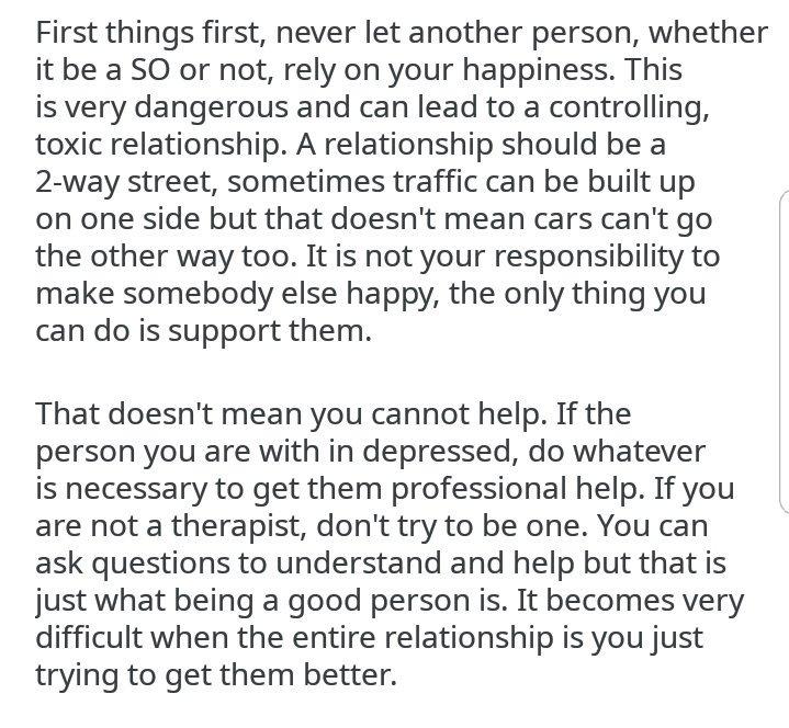 Dating therapist reddit