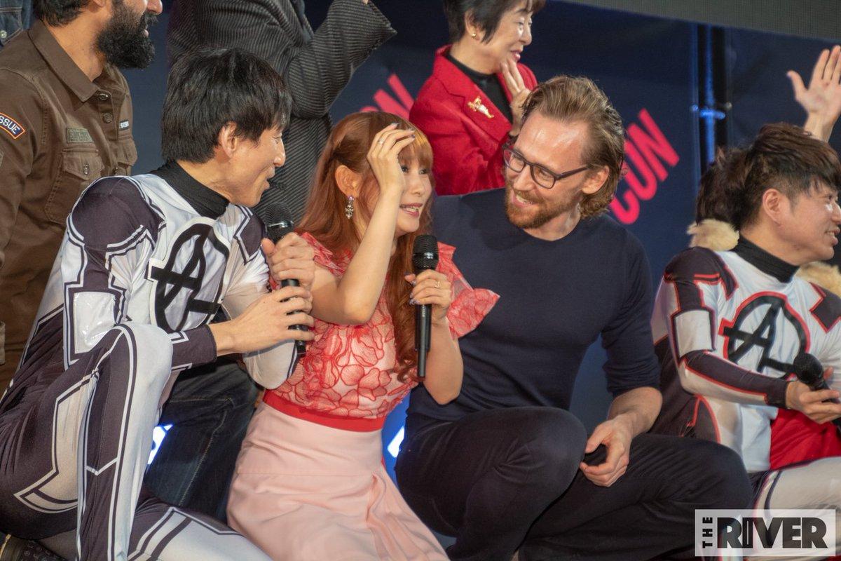 人が壊れる瞬間(不可抗力)#東京コミコン #トム・ヒドルストン
