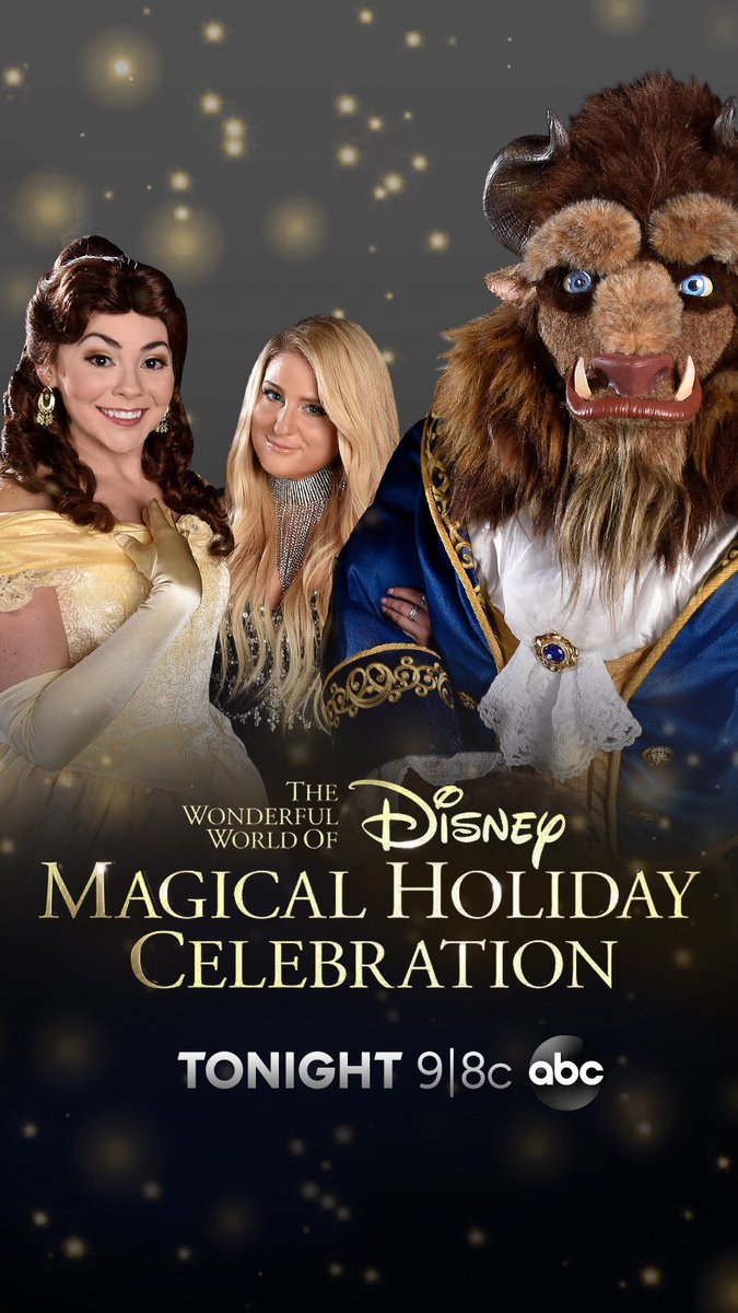 West Coast @Disney 's Magical Holiday Celebration is on now!! @ABCNetwork
