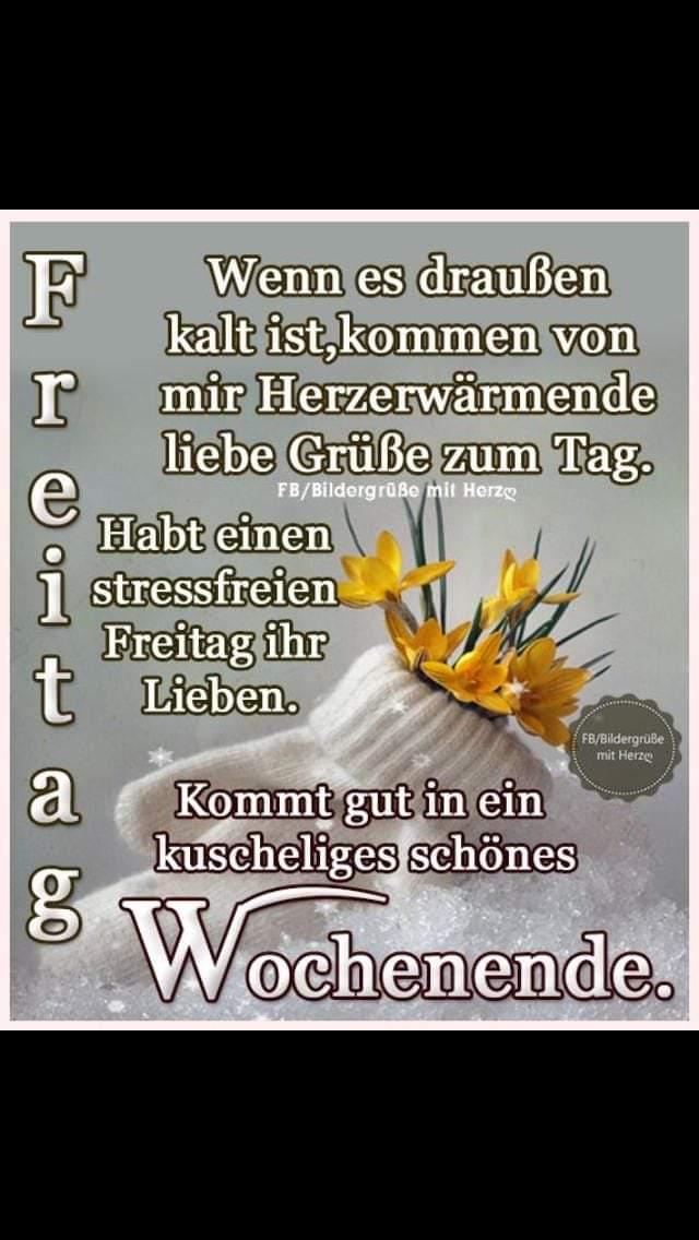 Guten Morgen Es Ist Freitag Guten Morgen Freitag Ich