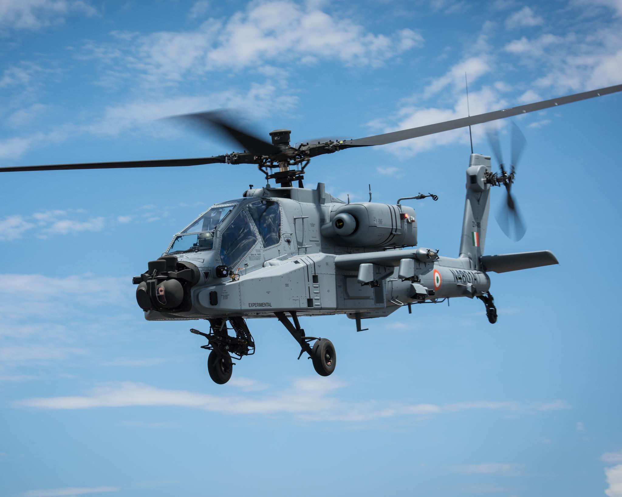 IAF Apache helicopter