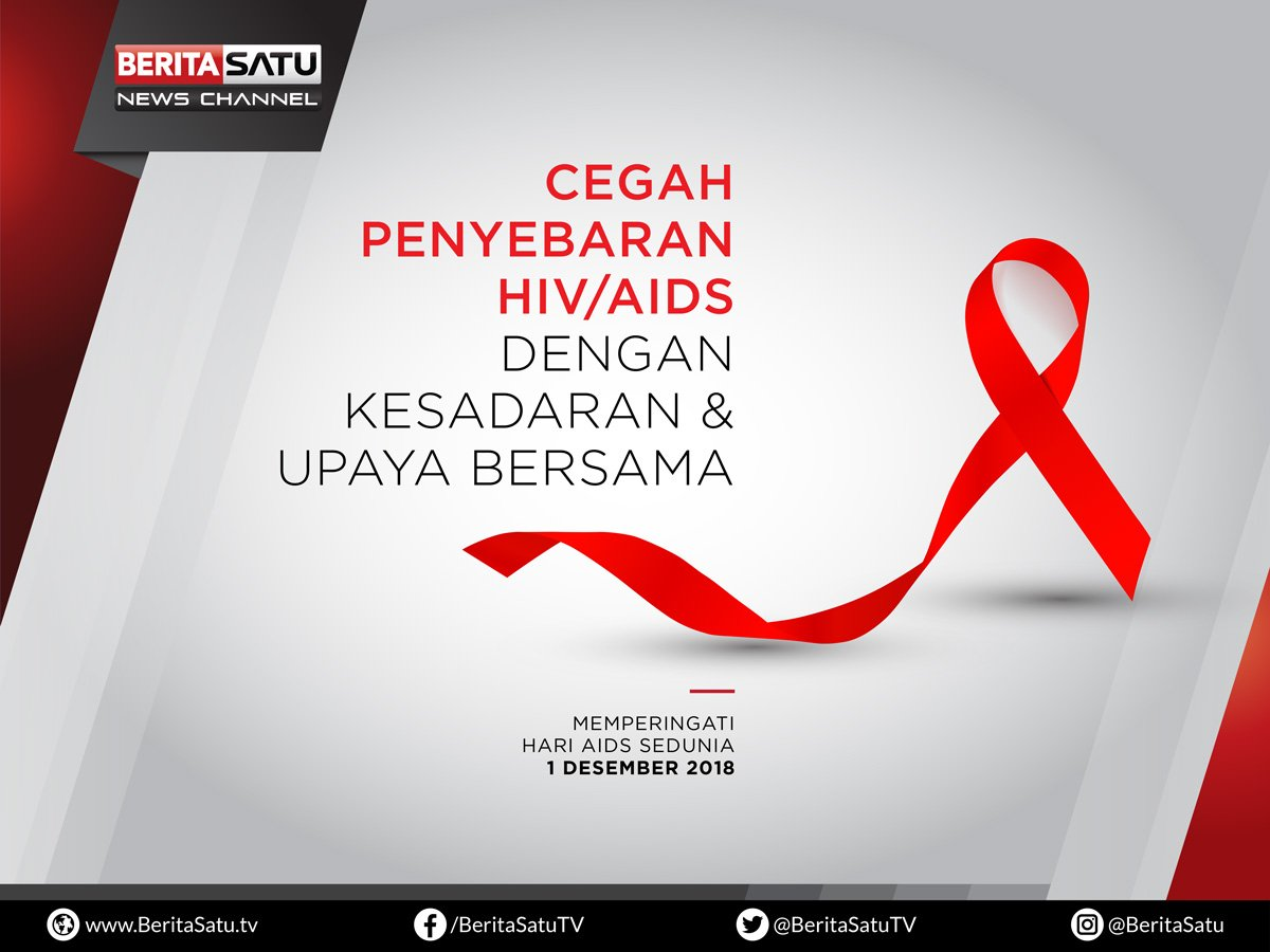 Cegah penyebaran HIV/ AIDS Dengan Kesadaran & Upaya Bersama. #HariAidsDunia https://t.co/m5uUjrtEnj