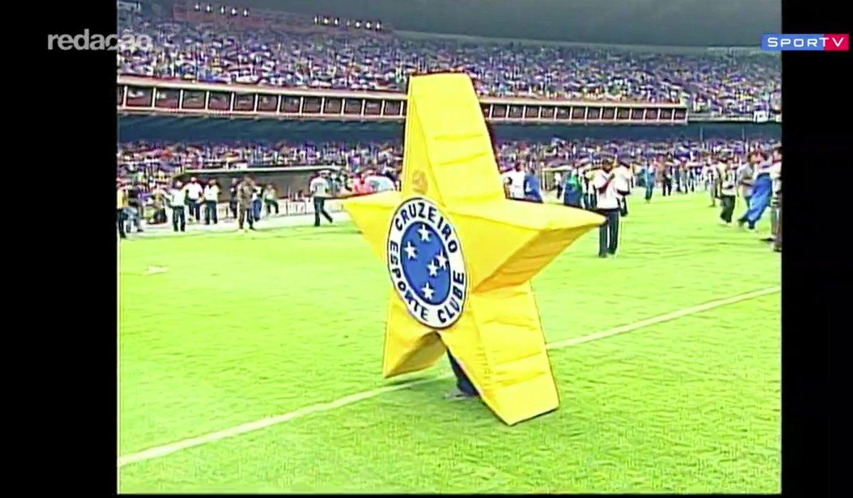Há 15 anos, o Cruzeiro conquistava a Tríplice coroa!   #RedacaoSporTV