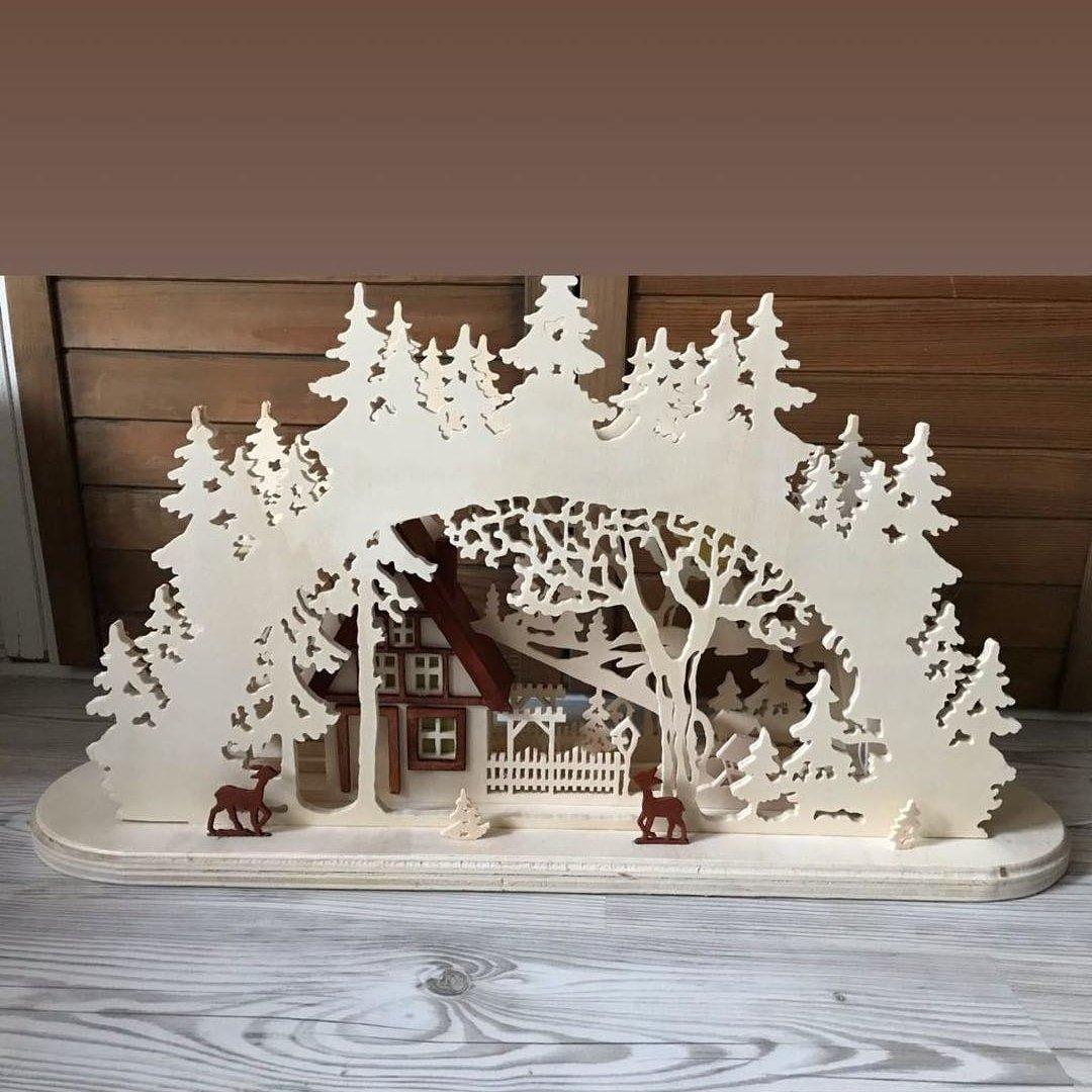 Weihnachtsdeko Schwibbogen.Wolfcrafts Weihnachtswerkstatt Hashtag On Twitter