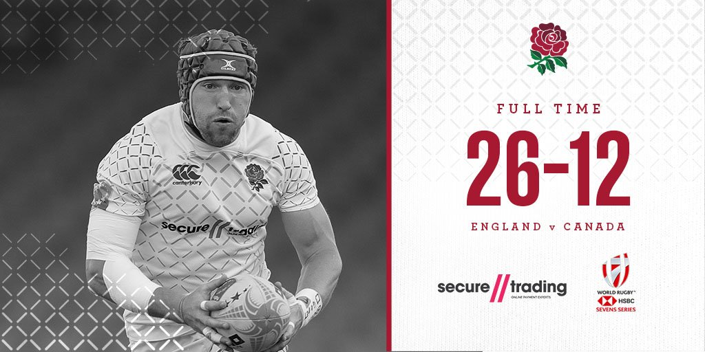 The England Mens Sevens team are off to a winning start at the #Dubai7s with victory over Canada 🌹