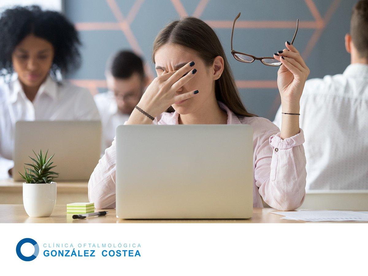 eff882cfa Permanecer muchas horas delante del ordenador puede causar fatiga visual