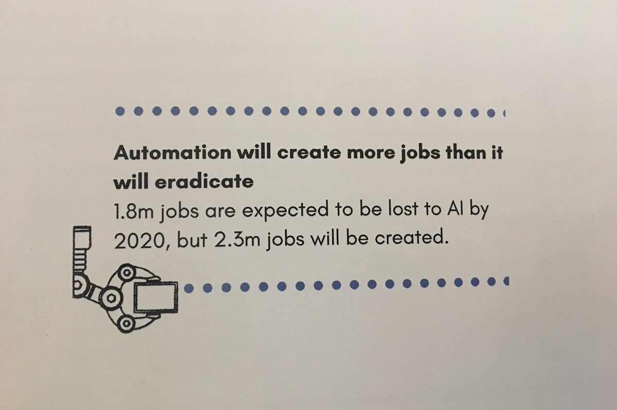 Busting some #AI myths at #digitalsummit18