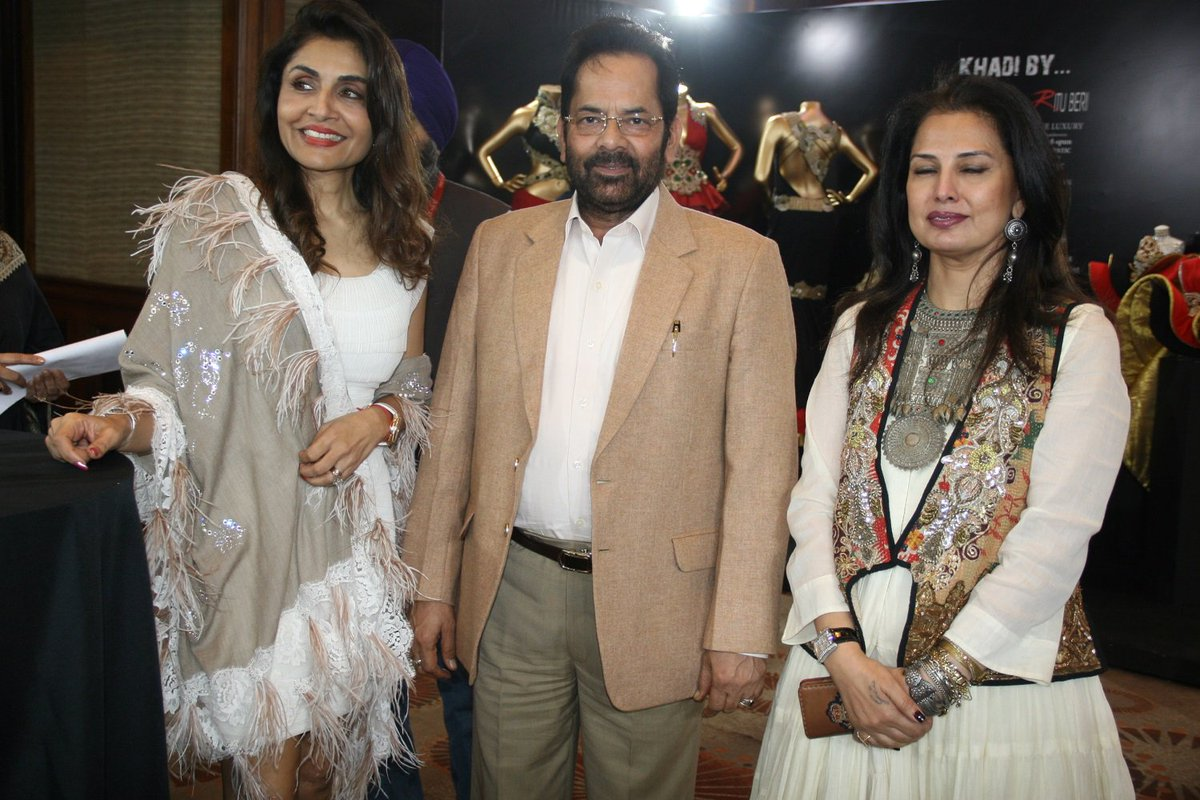 Mukhtar Abbas Naqvi On Twitter Today Attended The Luxury Symposium 2018 Organised By Renowned Fashion Designer Therituberi Ji In New Delhi Famous Fashion Designers And Artisans Of National And International Level Were