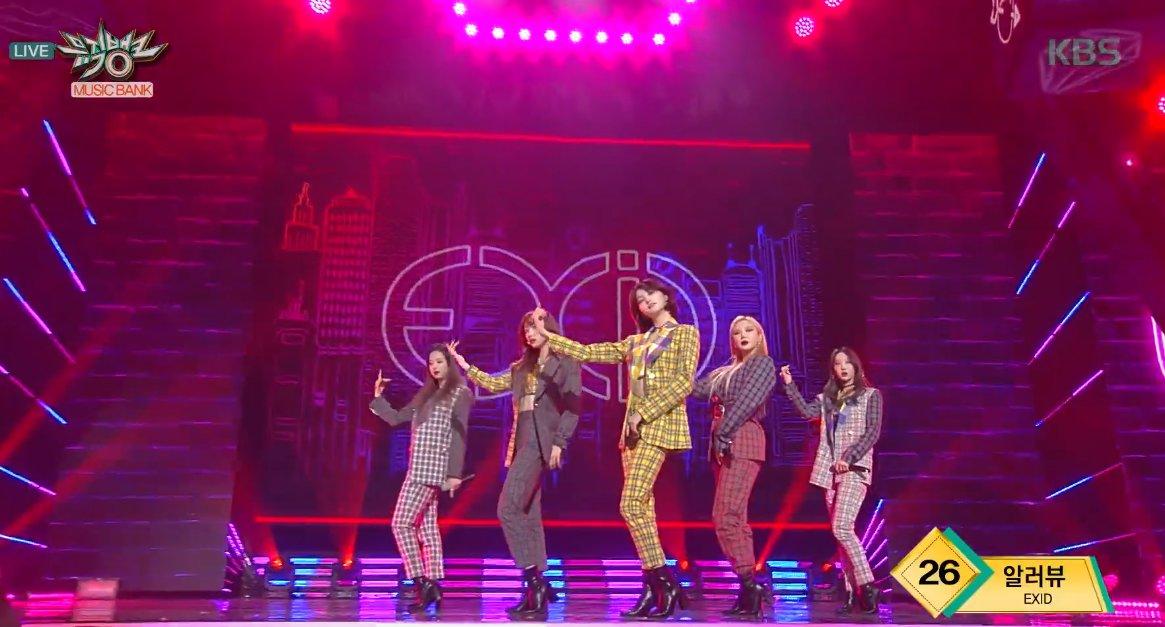 """Imagini pentru . EXID: """"I Love You"""" on Music Bank"""