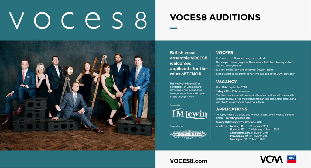 VOCES8 on Twitter: