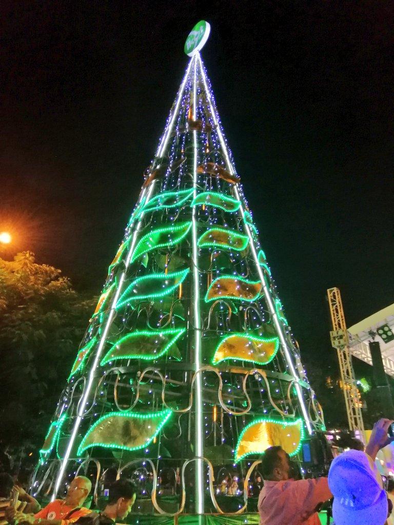 Christmas Tree Recycled Materials Lrmc Operations Liwasang