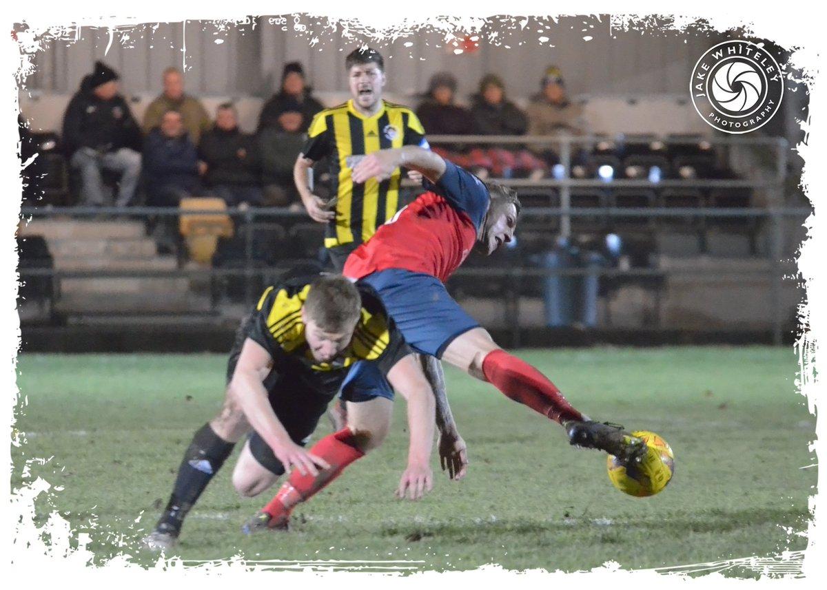 Second-half match-action: @Holbeach_UtdFC v @The_doughboys (#UCLKOCup, 28/11/18)... @spencertinkler @L8AVO