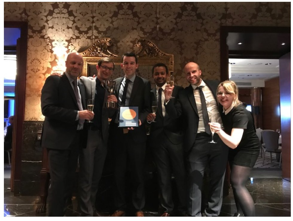 Proud to work with this @CNplus team and be with them to win @mediaIBP mag of the year in London last night. Judges highlighted brilliant work on Carillion and mental health/ gender equality campaigns as reason for win. #inspireme #cnmind