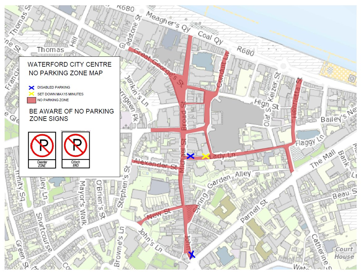 Waterford Council On Twitter Waterford City Centre Updated No