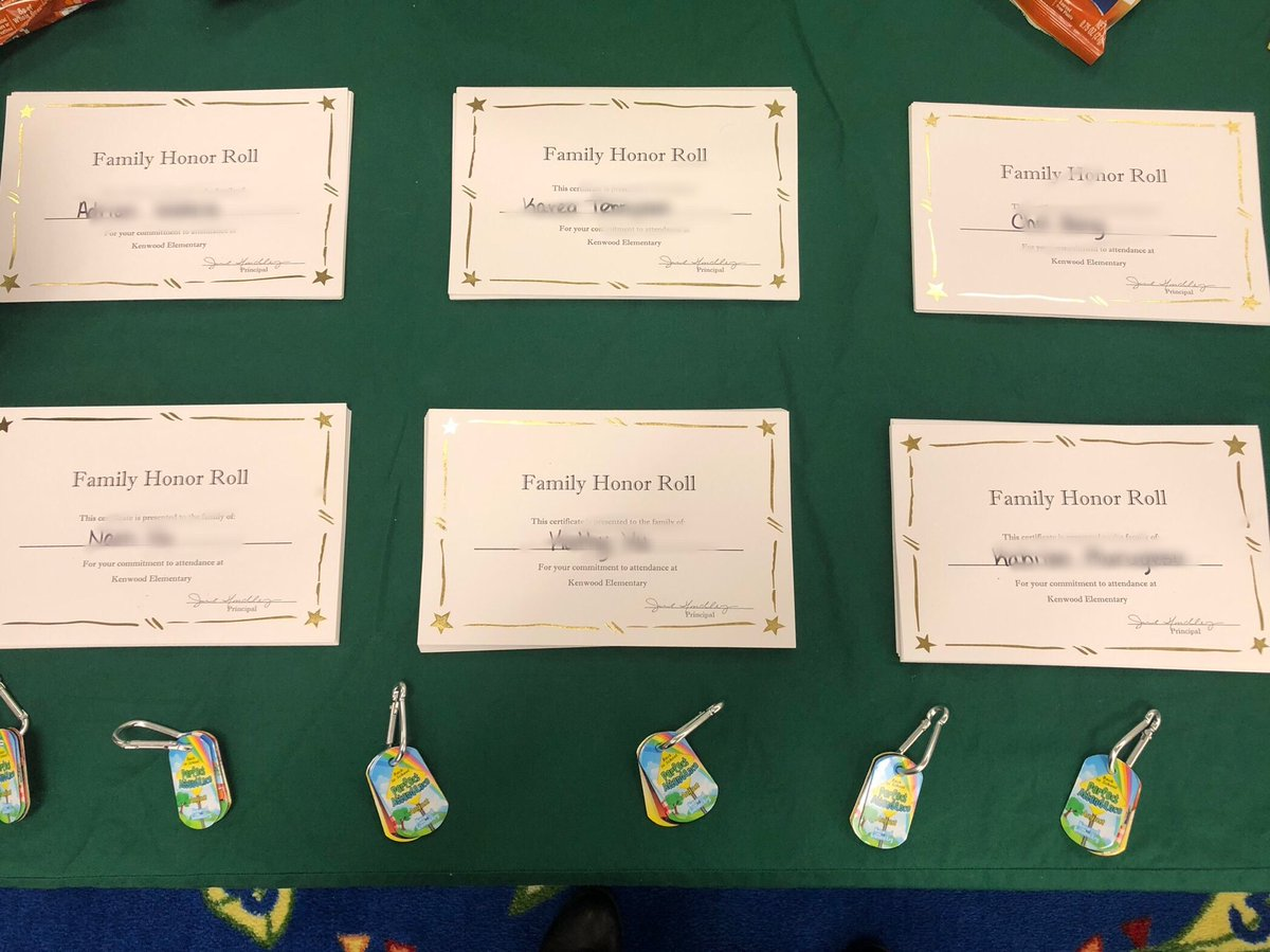 Jill Handley On Twitter Our First Family Honor Roll