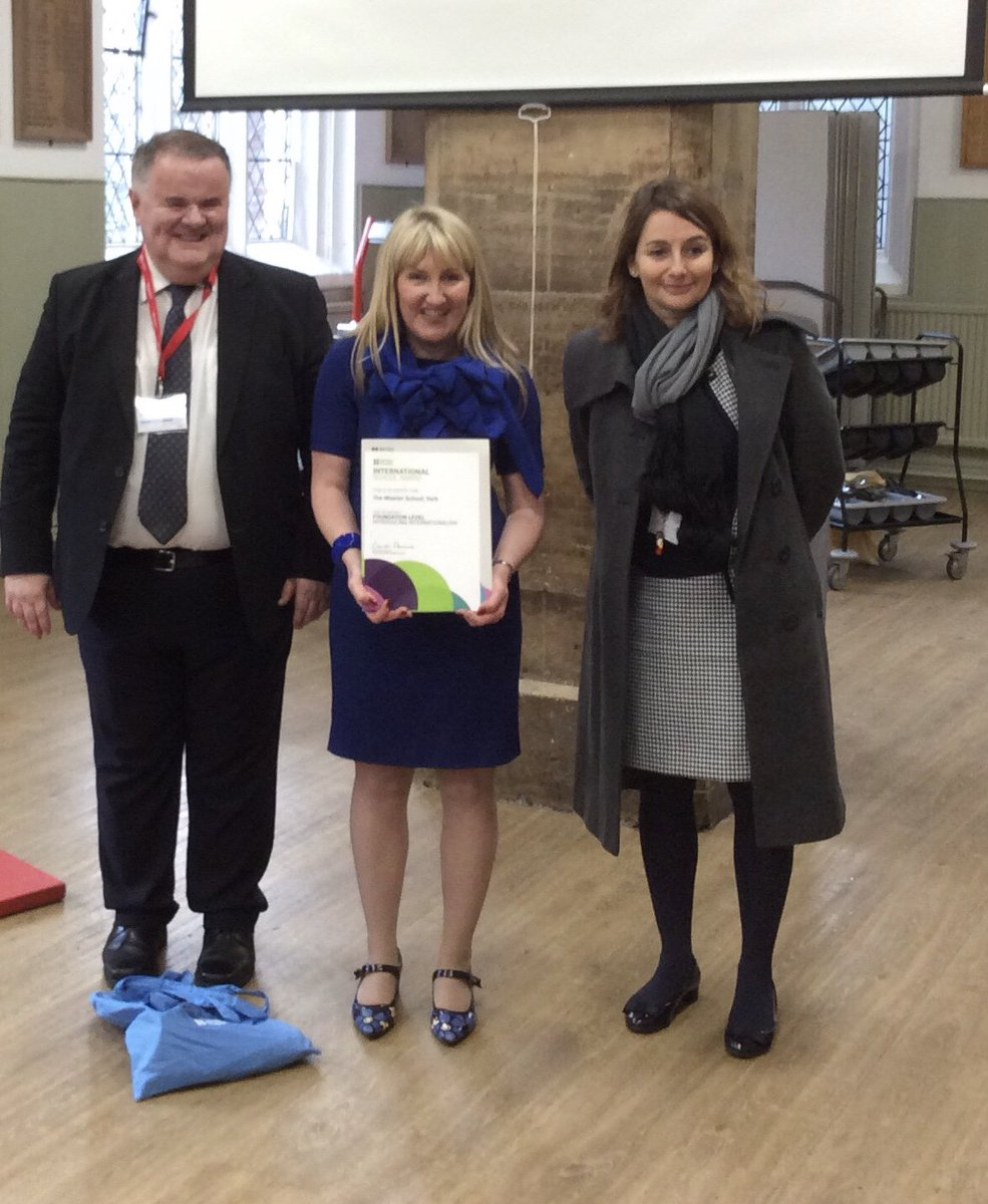 The Minster School York On Twitter Tmsyork Is Proud To Announce That Today Yorkshirejohn Mbe Visited Us To Present Us With The Prestigious Britishcouncil International Schools Award Yorkpress Https T Co Mpdnrby6nf