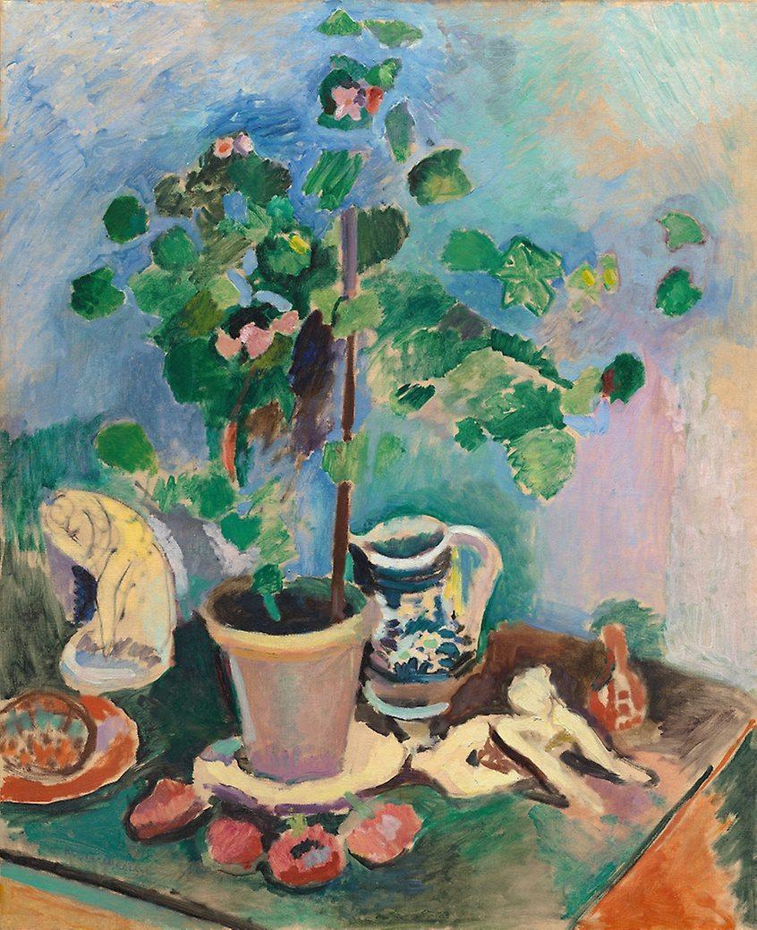 Картинки по запросу matisse still life with geranium