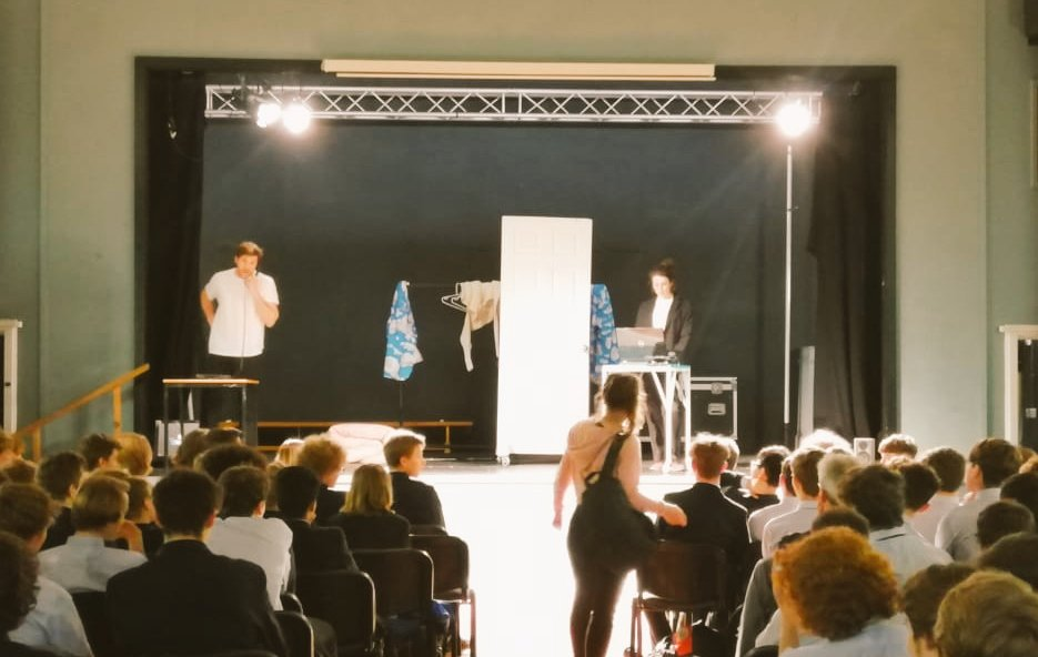 We were lucky enough to have The Natural Theatre Company perform an outstanding play to Year 11 highlighting the current issues of youth homelessness in the UK.