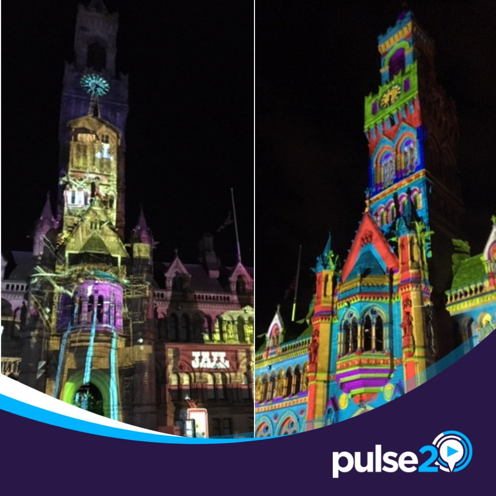 🎧 NEWS | LISTEN 🎤  Listen to our interview with @MrCarlMiller from @TheColorProject - the people behind #IlluminateBradford 🎨  The mini-festival starts tonight and is expected to bring 300,000 people into @CityParkBD 📸  Listen here: https://www.pulse2.co.uk/news/local/illuminate-bradford-what-you-need-to-know/… …  #Pulse2