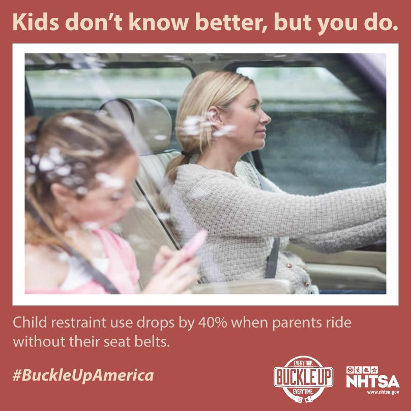 Set a good example for your children.  #BuckleUpAmerica <br>http://pic.twitter.com/VdXBnAbC7b