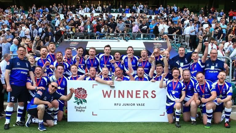 The greatest day in the clubs history ✍ They won the RFU Junior Vase final at Twickenham earlier this year, and last night @Otliensians were awarded @_UKCoachings prestigious Moment of the Year Award 👏 Full story: bit.ly/2Sio8NV