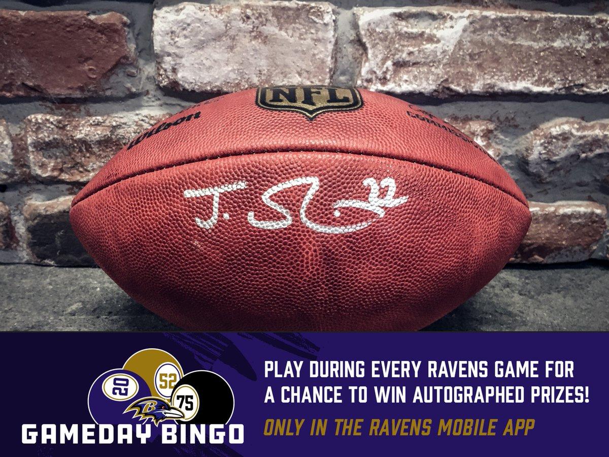 Baltimore Ravens on Twitter: Play Gameday Bingo in the Ravens