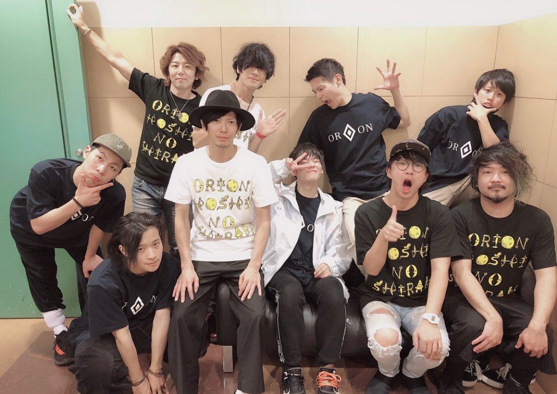 orion13日目☪︎ありがとう名古屋。最高に楽しかったまた会おう。次はとうとうファイナルか…