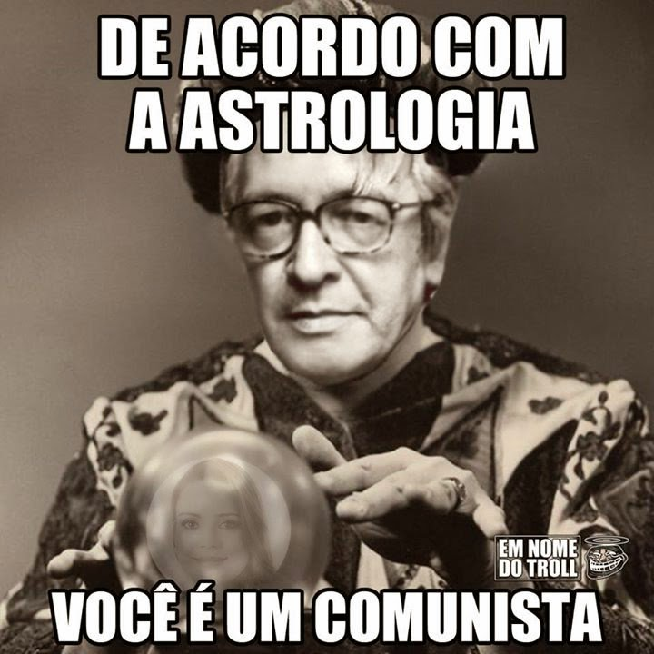 Resultado de imagem para astrologia olavo de carvalho