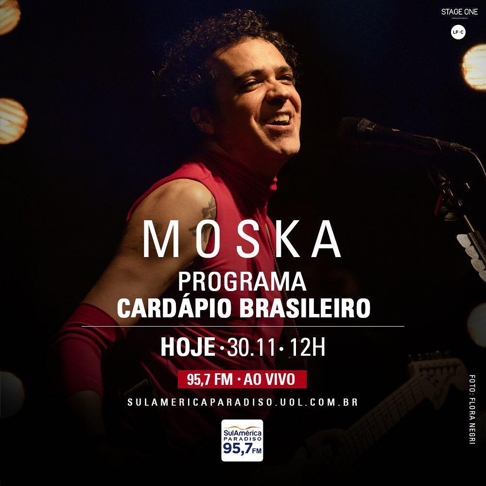 A partir das 13h, o  pmoska estará ao vivo na  sparadiso divulgando seu  show  BelezaEMedo que acontece amanhã no Imperator! a1e2eaf626