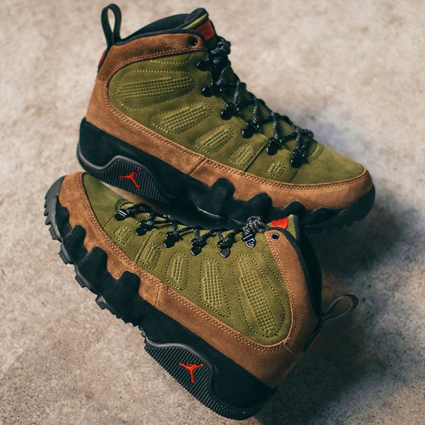 0ae3abffb40 ... Air Jordan 9 Retro Boot NRG are available for $180 + FREE shipping! BUY  HERE -> http://bit.ly/2PbgZNg (use discount code KICKS20Q4)pic.twitter.com/  ...