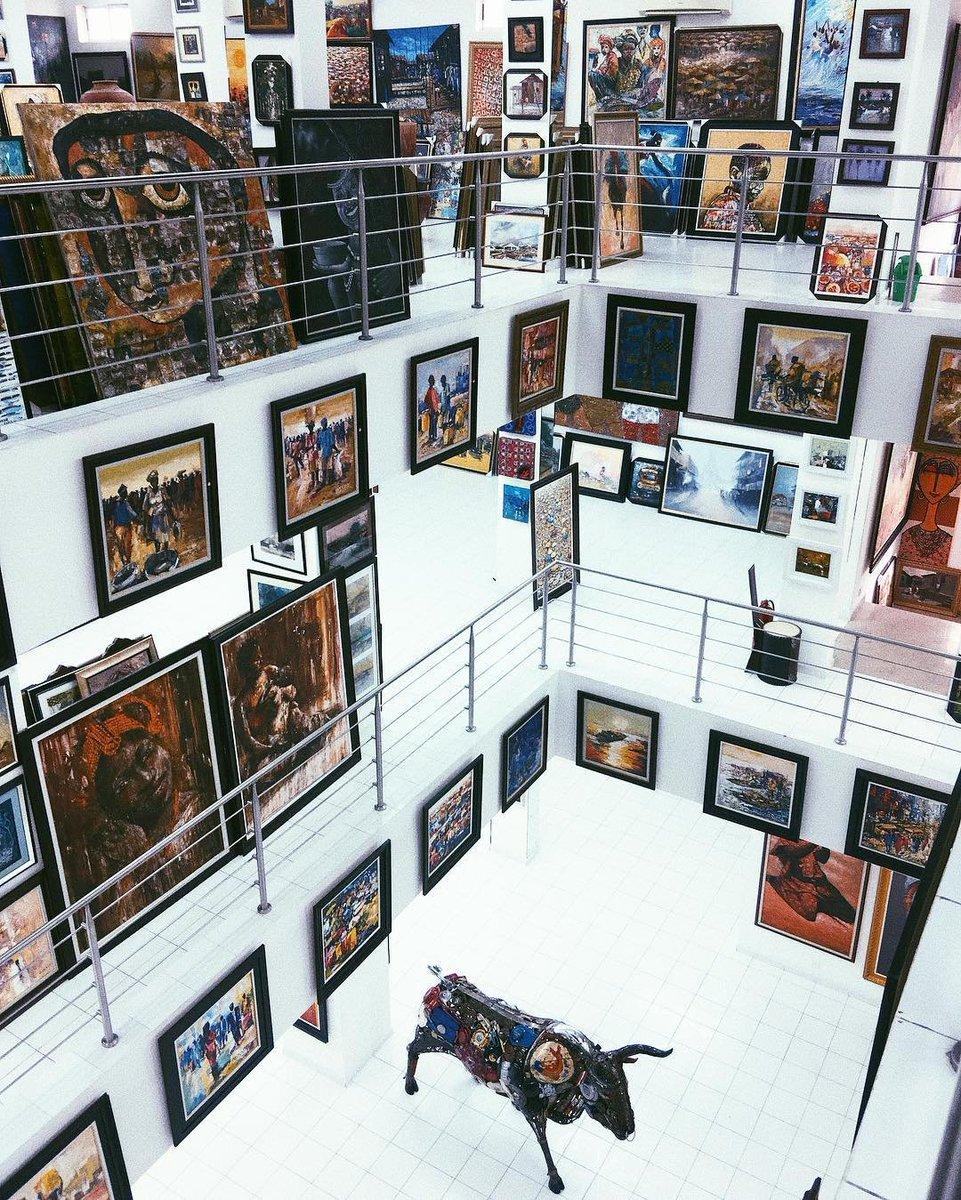 "Tour Nigeria sur Twitter : ""Nike Art Gallery, Lagos #Nigeria. This ..."