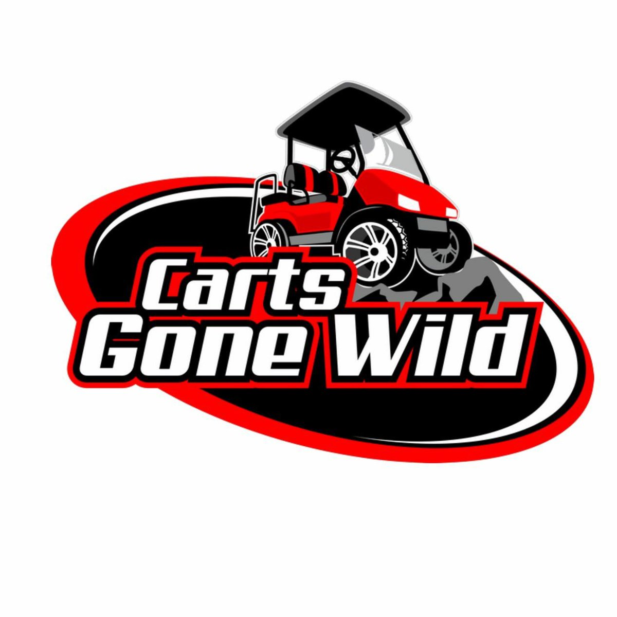 Carts Gone Wild, Inc (@cartsgonewild) | Twitter on red shopping cart, red push cart, red golf card,