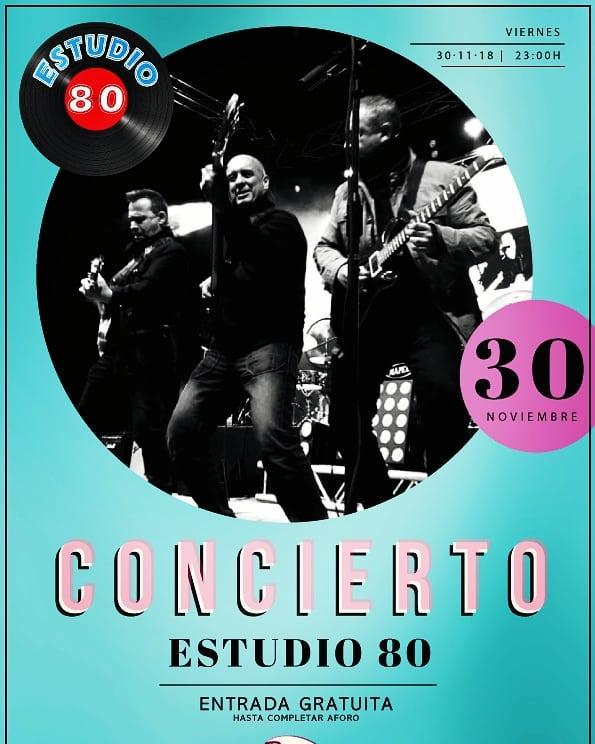 Planazo de viernes para despedir noviembre y darle la bienvenida a #diciembre ¡concierto de Estudio 80 en @tommymels  #guadalajara! Ni te lo pienses!! Entrada gratuita hasta completar aforo 🎸🎤 HOY a las 23h 😍 #guadalajara #ocio #musica https://t.co/wv5T2HEBlK