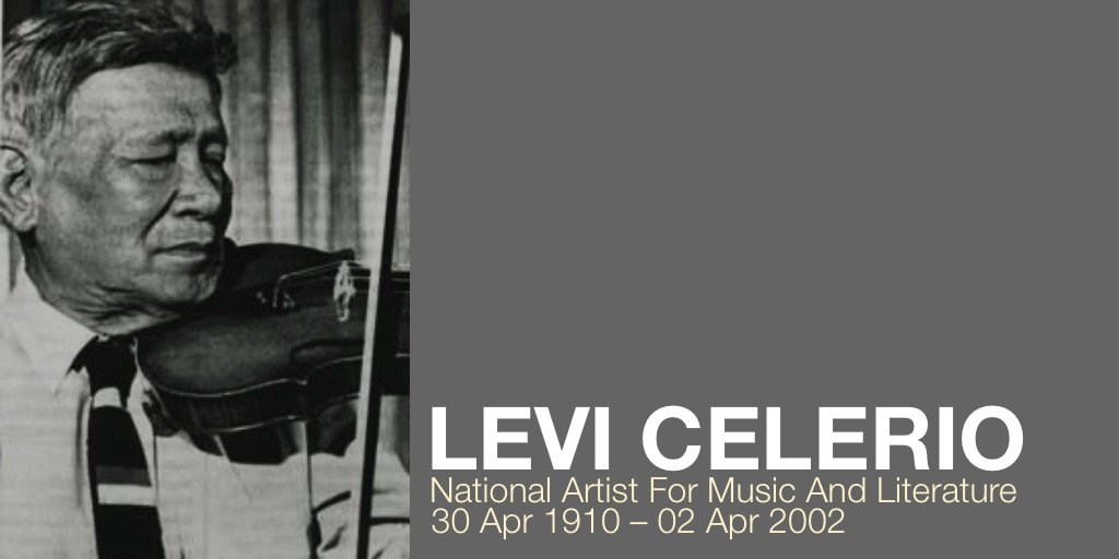 """Levi Celerio was a Filipino composer and lyricist recognized as a National Artist of the Philippines for Music and Literature in 1997. He is also recognized as the """"only man who could play music using a leaf"""" by the @GWR Book of Records. #LeviCelerio #NationalArtist #Leaf #Music"""