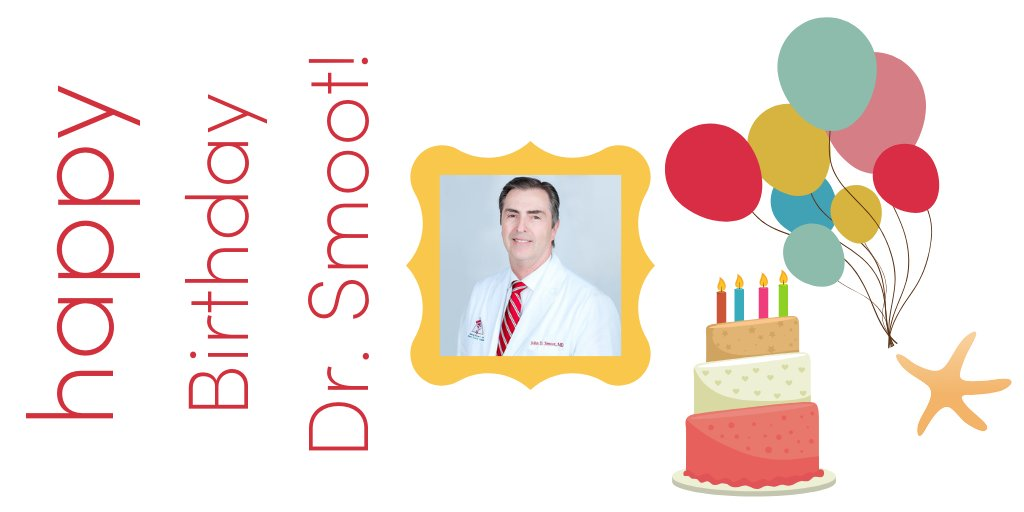 Please help us wish a VERY HAPPY BIRTHDAY to our medspa Medical Director, Dr. John Smoot!