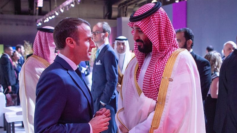 Saudi Crown Prince MBS meets world leaders, including France's Macron at #G20Argentina https://t.co/XXG6Bze1pT