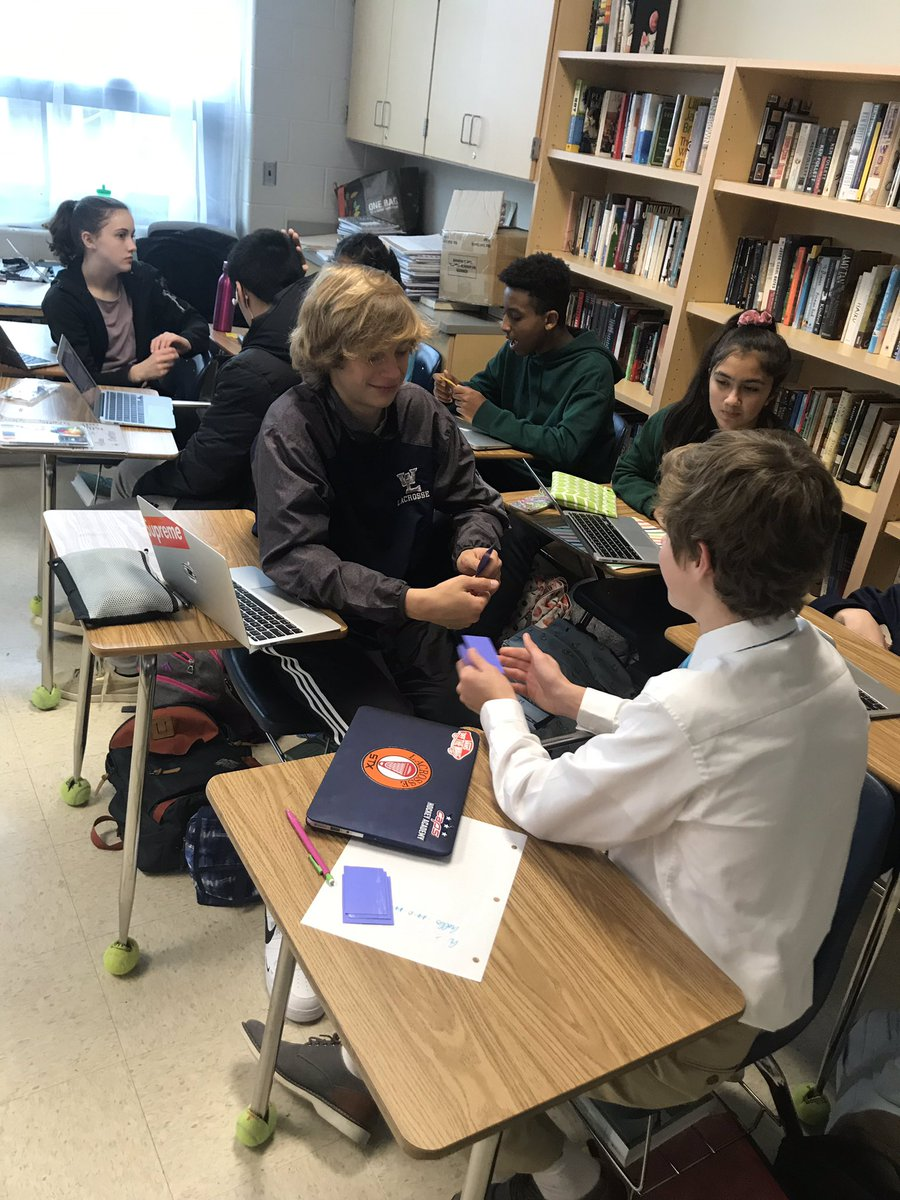 """Our college &amp; career counselor, Ms. Catino, has been visiting freshman English classes.  Students have been doing the """"Strength Explorer"""" assessment and are having great discussions! <a target='_blank' href='http://twitter.com/Naviance'>@Naviance</a>  <a target='_blank' href='http://twitter.com/GeneralsPride'>@GeneralsPride</a> <a target='_blank' href='http://twitter.com/APS_StudentSrvc'>@APS_StudentSrvc</a> <a target='_blank' href='https://t.co/I1pvK5yEHI'>https://t.co/I1pvK5yEHI</a>"""