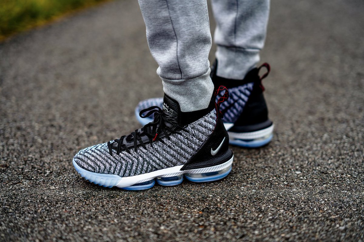 Nike LeBron XVI 'Oreo' Drops Tomorrow