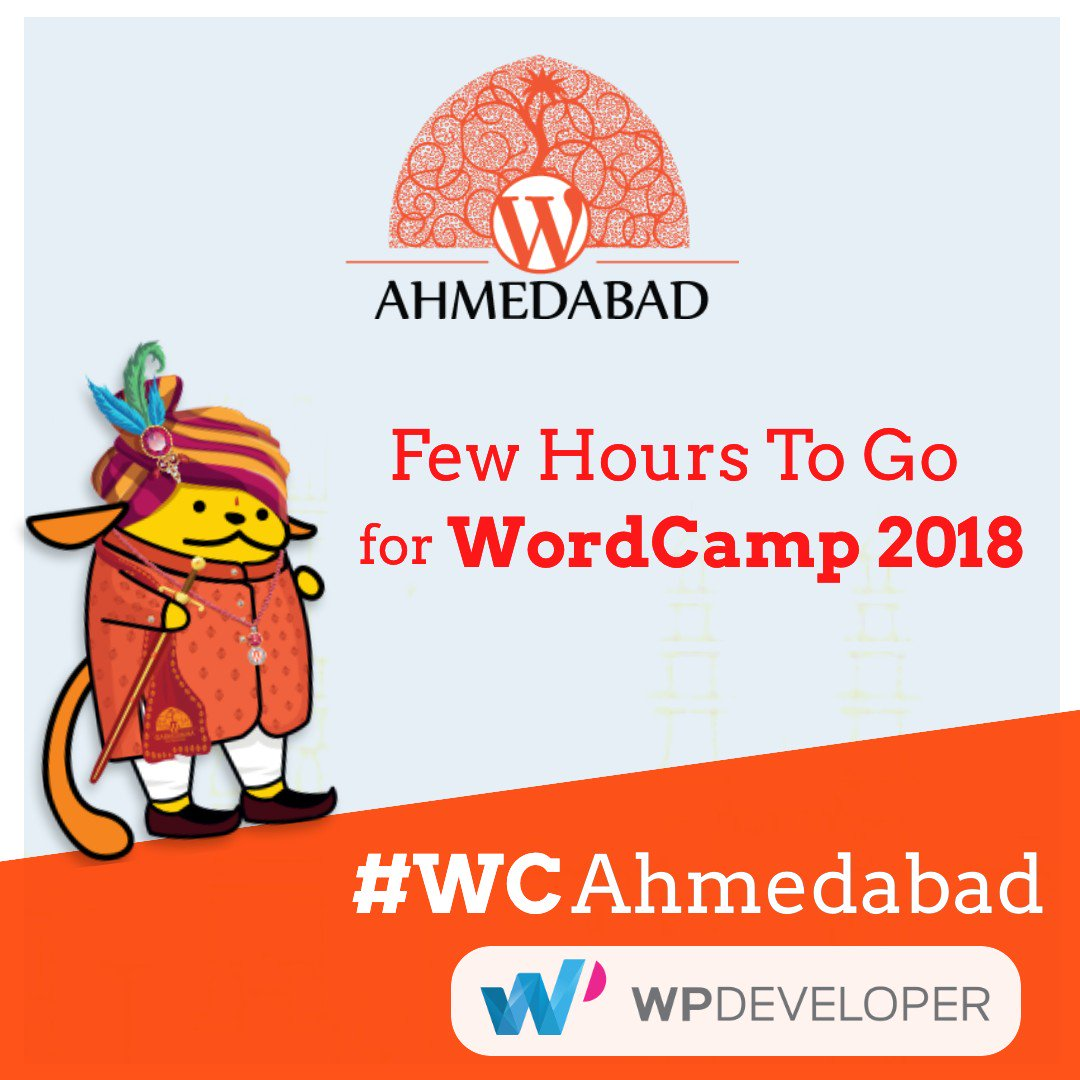 test Twitter Media - WordCamp Ahmedabad 2018 starts in few hours. If you're attending @WCAhmedabad, be sure to say hi to #WPDEVteam's @asif2bd.👋#WCAhmedabad #WordPress #WordCamp https://t.co/4QhYYICn4k