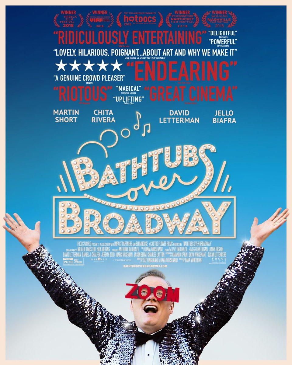 Bathtubs Over Broadway on Twitter: