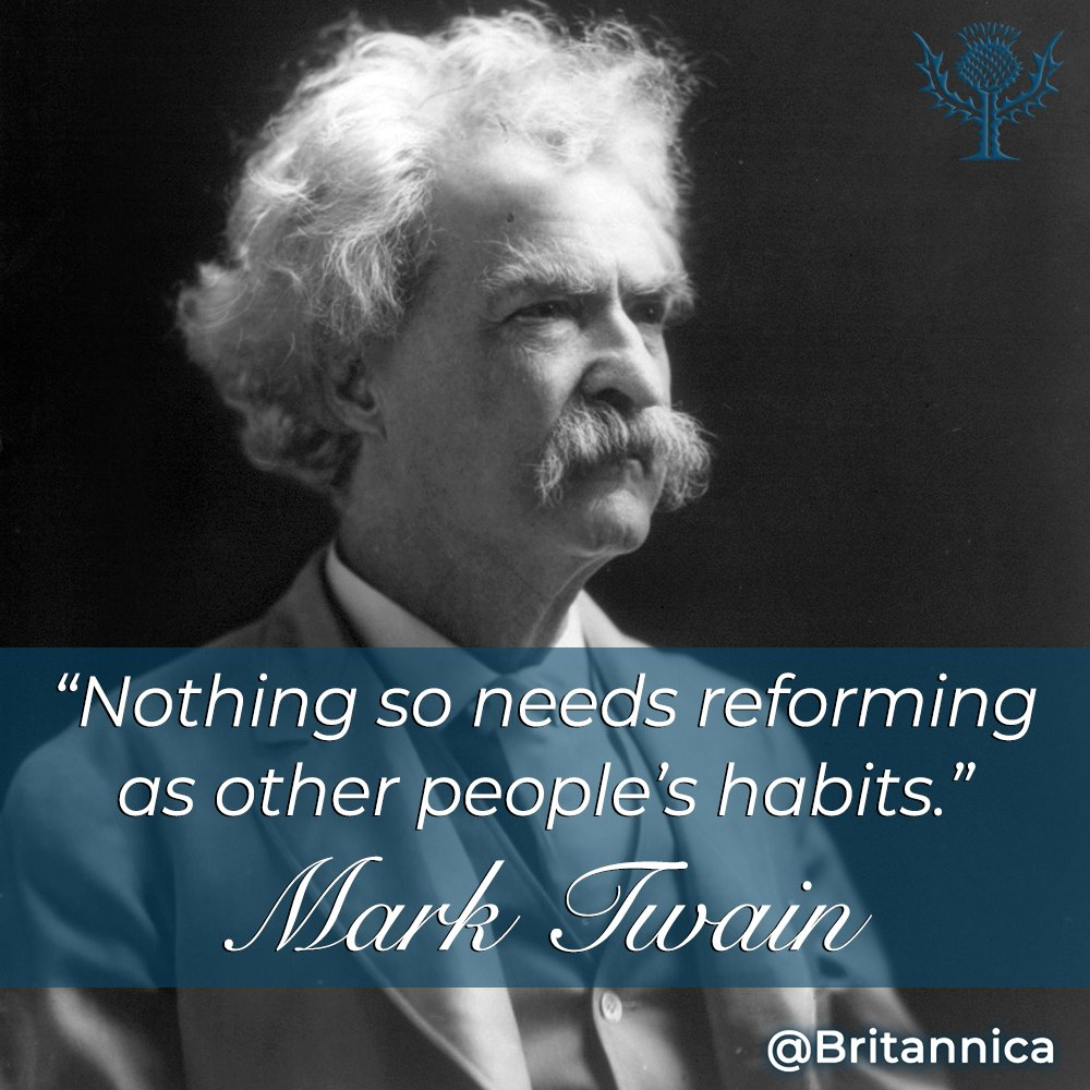Mark Twain, one of America's best and most beloved writers, was born #OnThisDay in 1835. eb.com/biography/Mark…