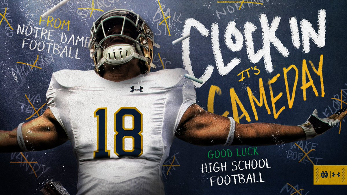 Notre Dame Football On Twitter Be Quick But Dont Hurry Good