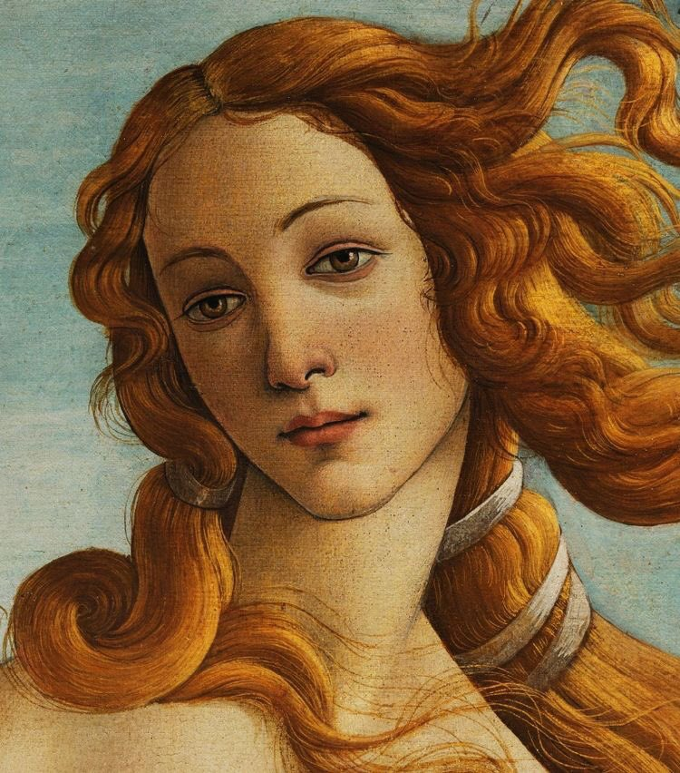 aphrodite goddess painting - 736×965