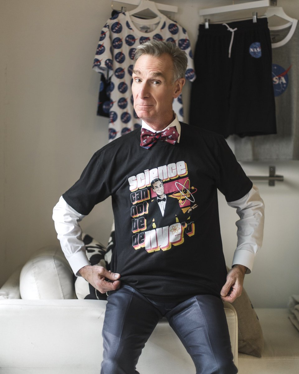 Science Cannot be DeNYEd! The world climate is changing and we need to do something about it! Support my @represent limited edition Science and Chill campaign at represent.com/billnye Proceeds support @solutionsproject