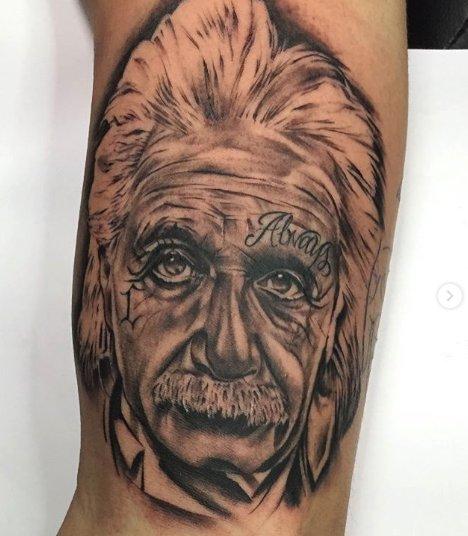 Albert Einstein On Twitter Fan Art Friday Tattoo Https
