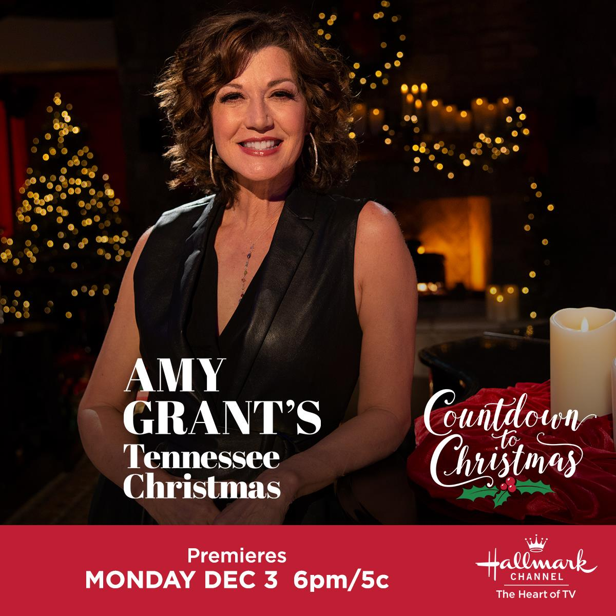 Hotwire Communications On Twitter We Can T Wait For The Premiere Of Amygrant S New Hallmark Channel Usa Original Movie Tennessee Christmas Catch It Monday Dec 3rd As Part Of Countdowntochristmas Https T Co Ciishkxcjy