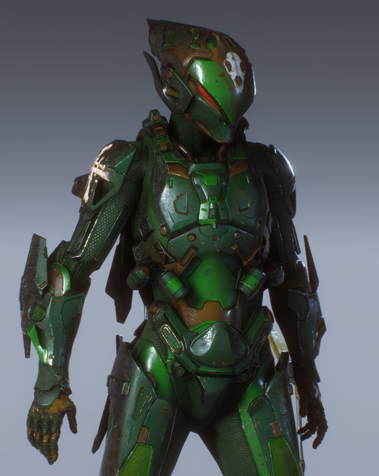 New Interceptor Personalization Screenshot By Mike Madbee On Twitter Anthemthegame