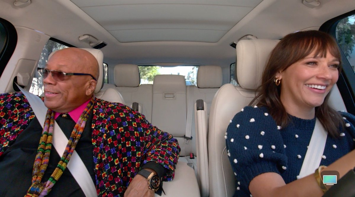 Nothing like a father daughter road trip sing-along! 🚘🎶 Join @IAmRashidaJones and @QuincyDJones for a round of @CarpoolKaraoke. Now streaming for free in the Apple TV app. apple.co/CarpoolKaraoke…
