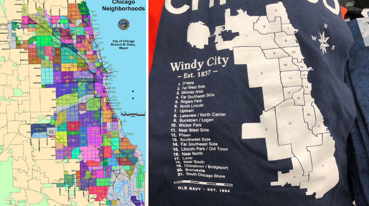 on chicago bad areas map