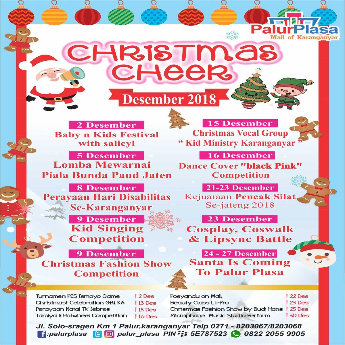 "Palur Plasa On Twitter ""Christmas Cheer 2018 Palur Plasa"
